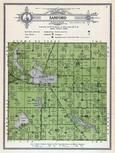 Sanford Township, Elbow Lake, Horsborg, Grant County 1914